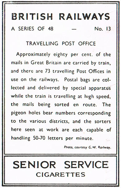 Travelling post office