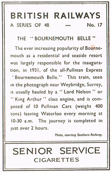 The 'Bournemouth Belle'
