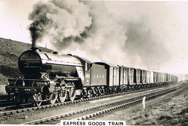 Express goods train