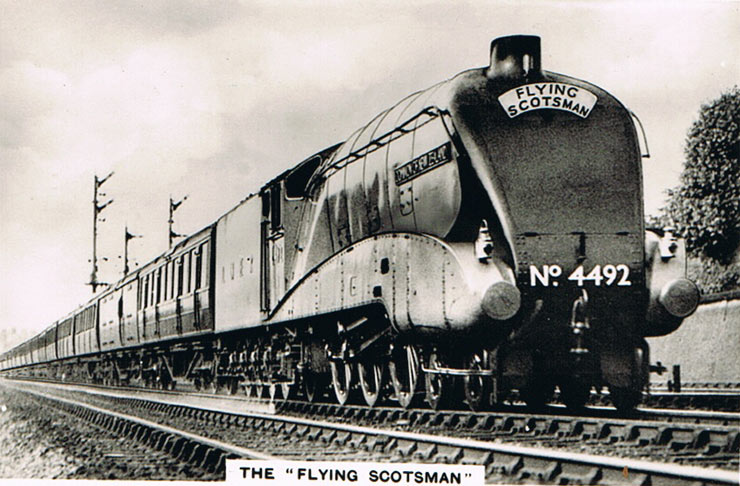 The 'Flying Scotsman'
