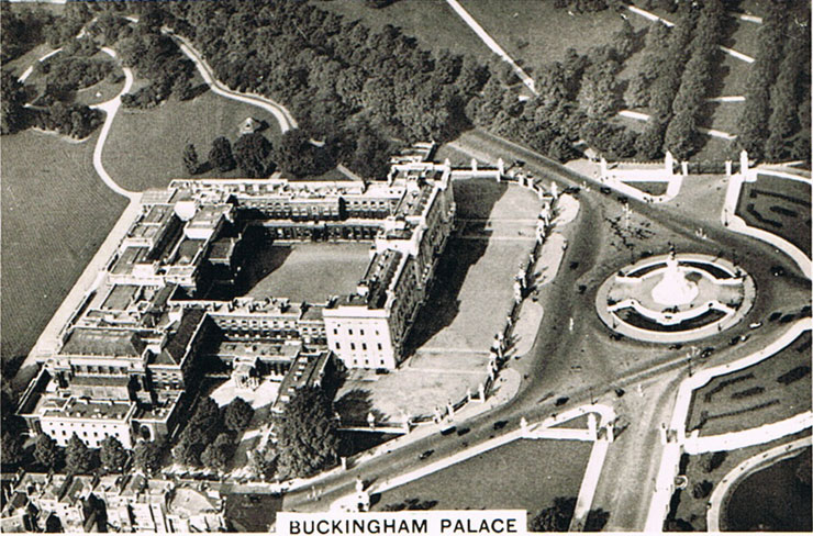Buckingham Palace Britain From The Air Cigarette Cards 1939