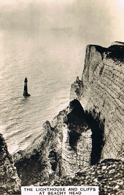 The Lighthouse and cliffs at Beachy Head
