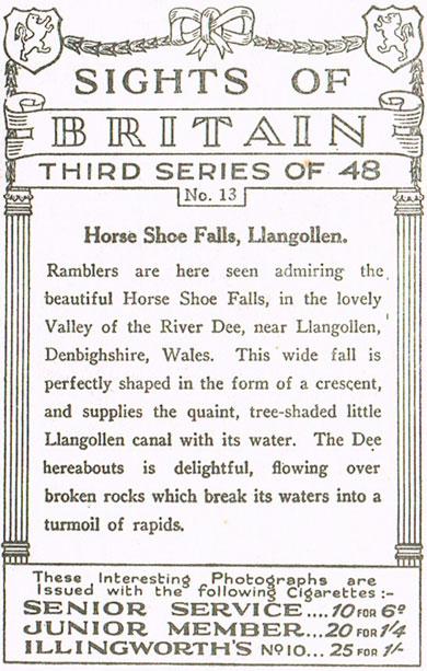Horse Shoe Falls, Llangollen