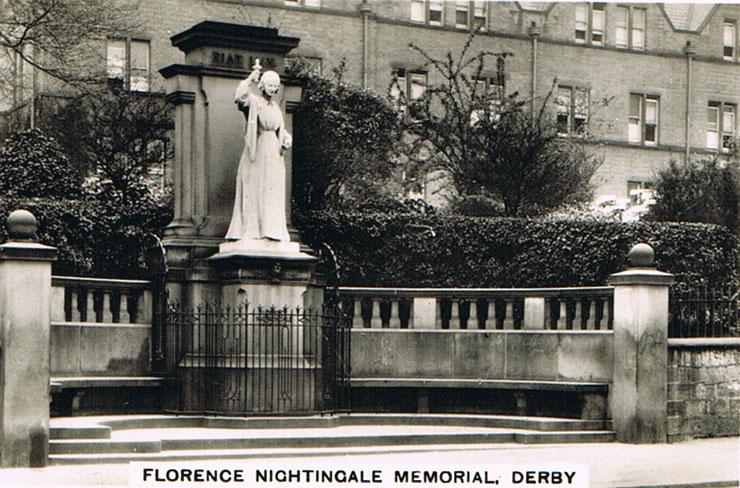 florence nightingale memorial derby sights of britain 3. Black Bedroom Furniture Sets. Home Design Ideas