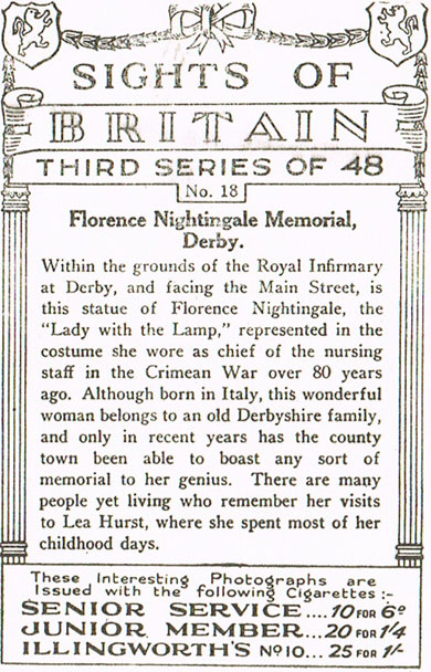 Florence Nightingale Memorial, Derby