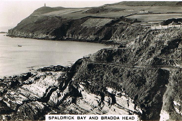 Spaldrick Bay and Bradda Head