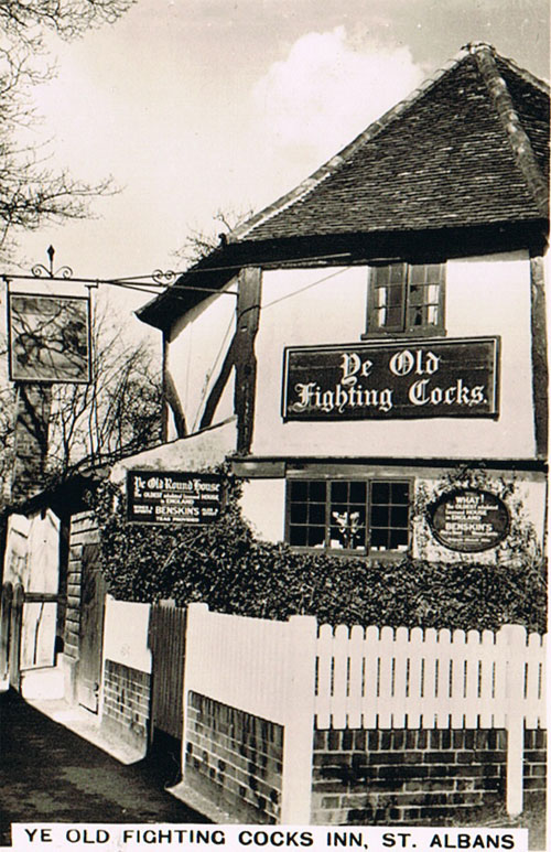 Ye Old Fighting Cocks Inn, St. Albans