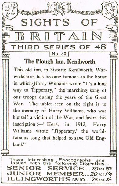 The Plough Inn, Kenilworth