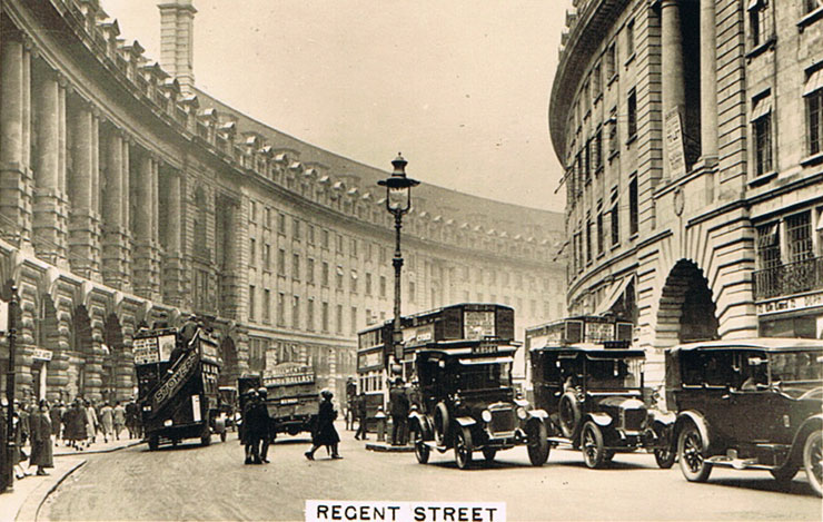 Fashion collection 2017 - Regent Street Sights Of London 1 Cigarette Cards 1935