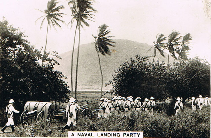 A Naval Landing Party