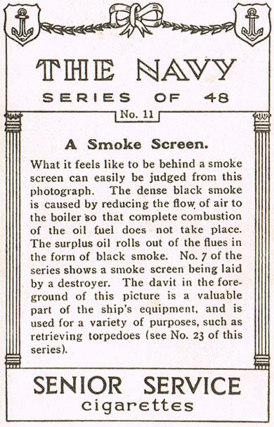 A Smoke Screen