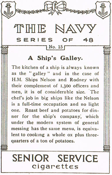 A Ship's Galley