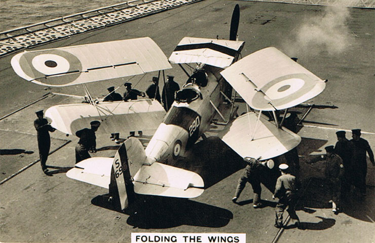 Folding the Wings
