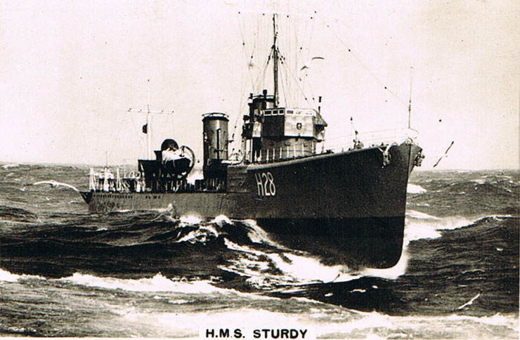 H.M.S. Sturdy