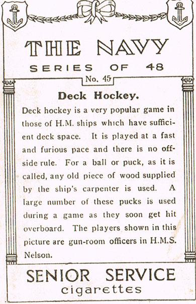 Deck Hockey