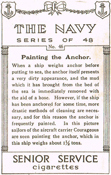 Painting the Anchor