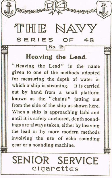 Heaving the Lead