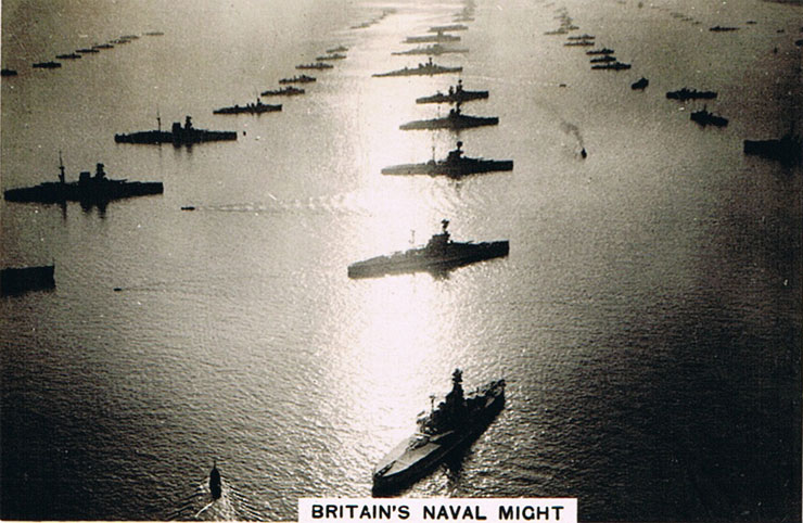 Britain's Naval Might