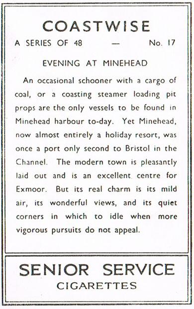 Evening at Minehead