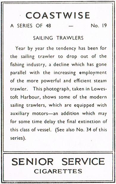 Sailing Trawlers