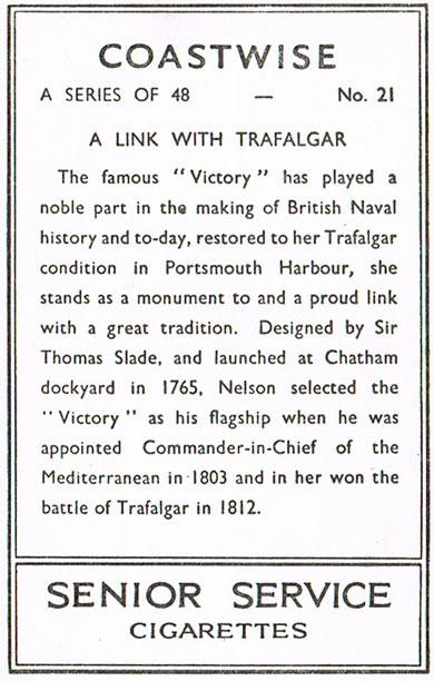 A Link with Trafalgar