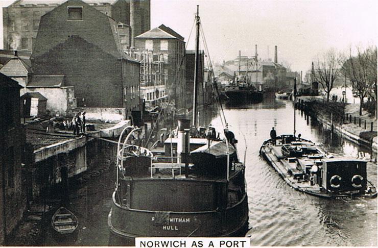 Norwich as a Port
