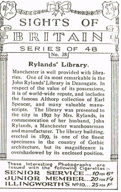 Rylands Library
