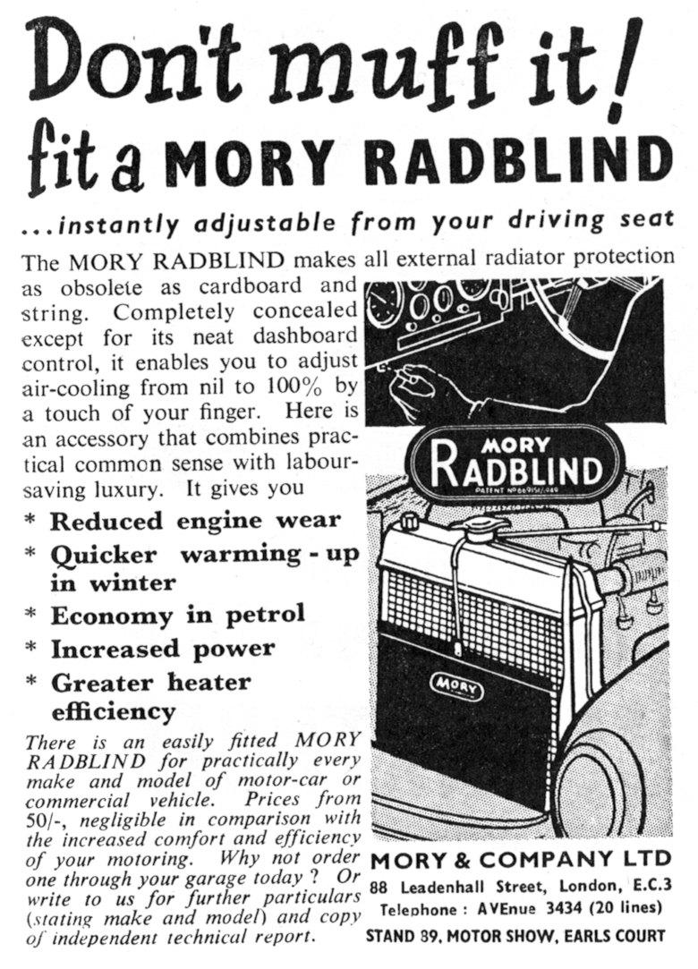Mory Radblind