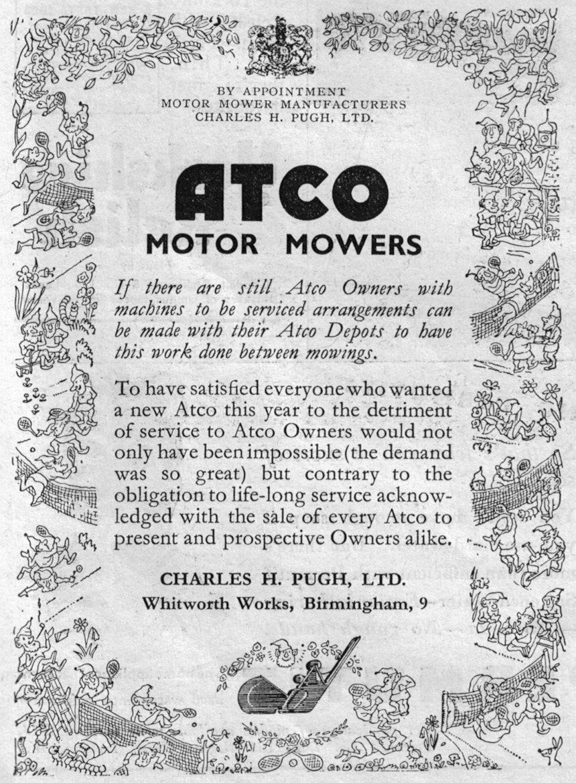 Atco Motor Mowers