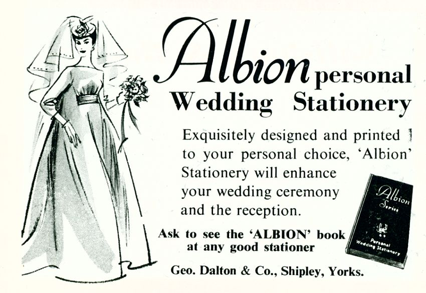 Albion Wedding Stationery