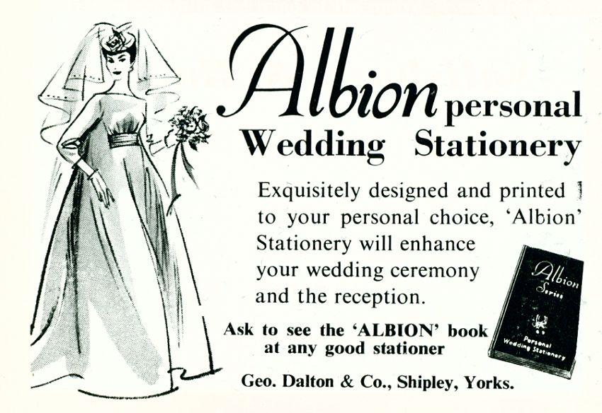 Albion Wedding Stationery