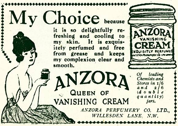 Anzora Vanishing Cream