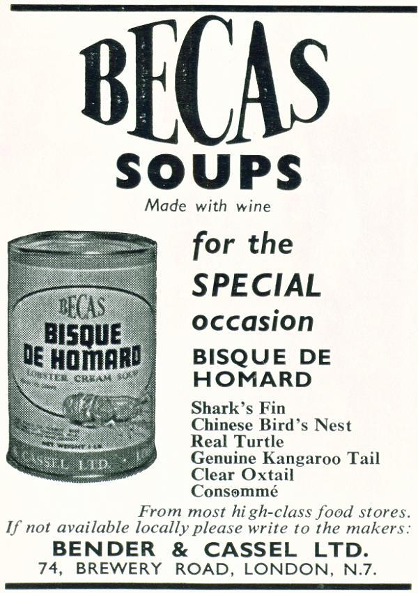Becas Soups
