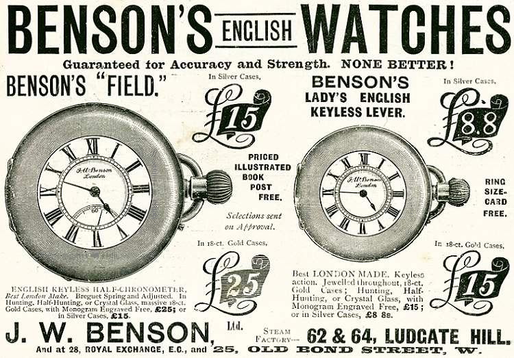 Benson's English Watches
