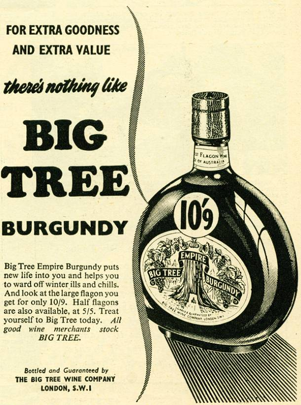 Big Tree Burgundy