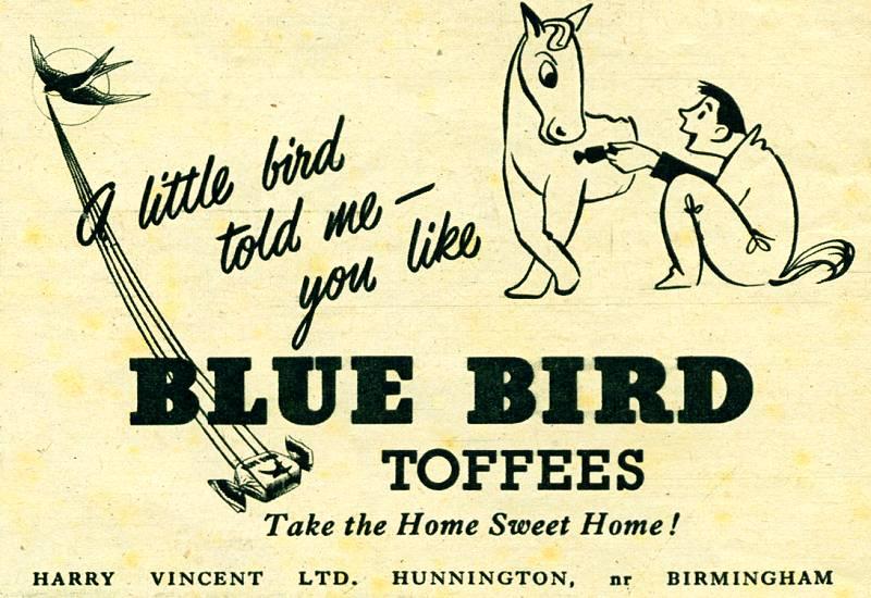 Blue Bird Toffees