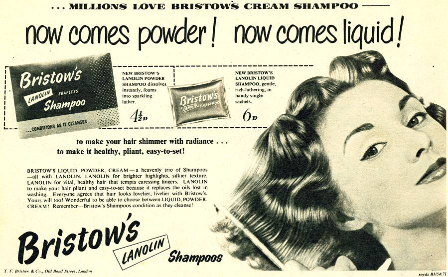 Bristow's Lanolin Shampoo