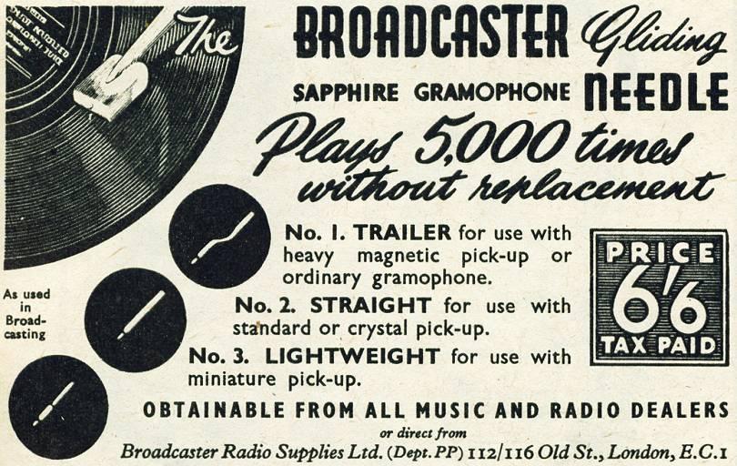 Broadcaster Needle