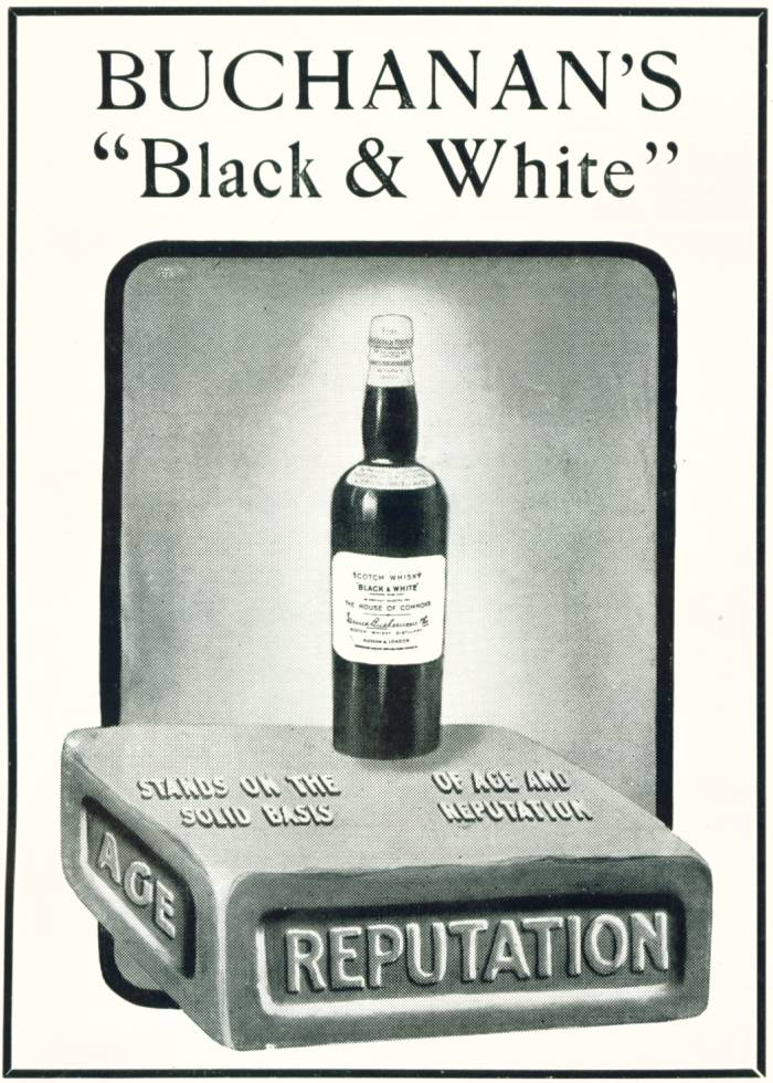 Buchanan's 'Black & White'