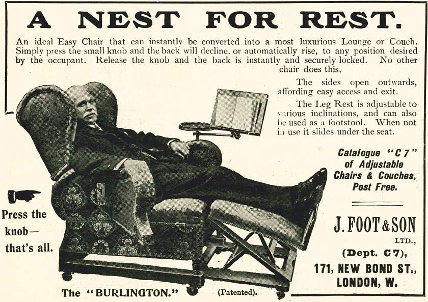 A Nest For Rest. - The 'Burlington'