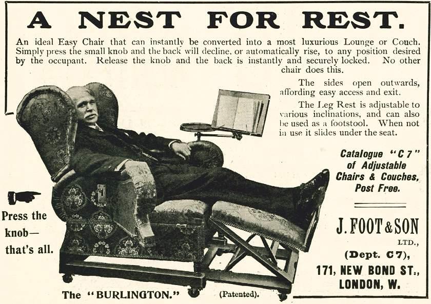 A Nest For Rest. - The 'Burlington'