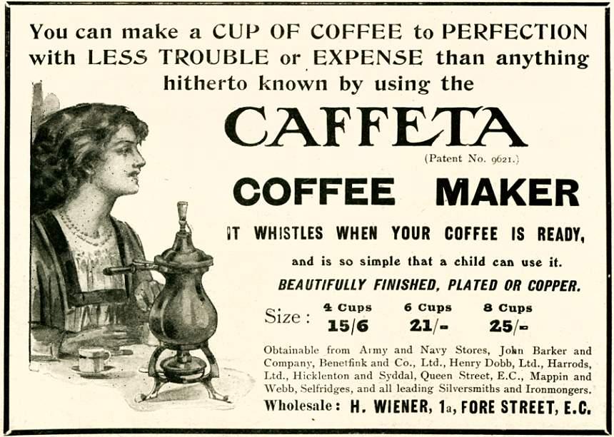 Caffeta Coffee Maker