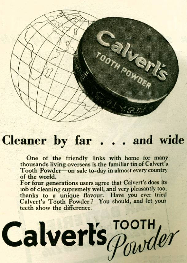 Calvert's Tooth Powder