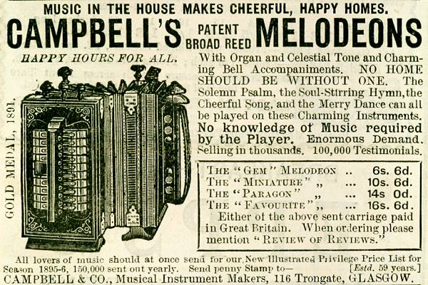 Campbell's Melodeons