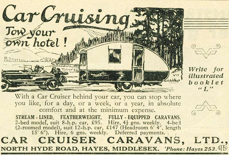 Car Cruiser Caravans, Ltd.