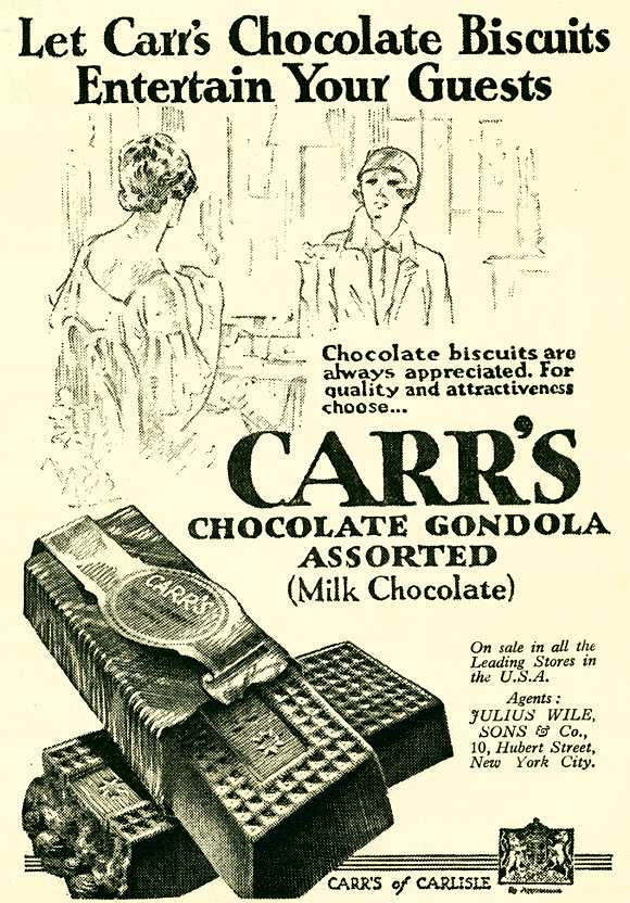 Carr's Chocolate Biscuits