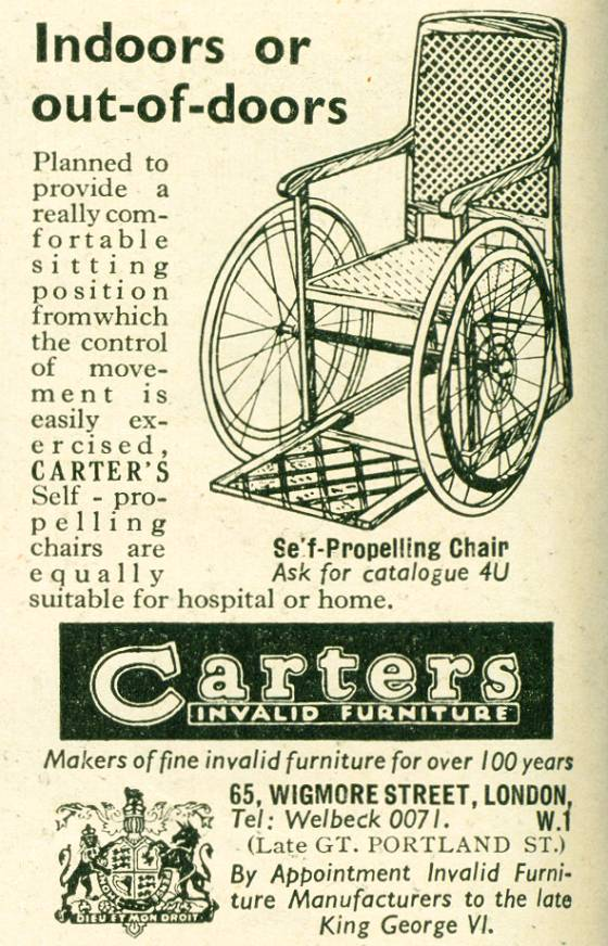 Carters Invalid Furniture
