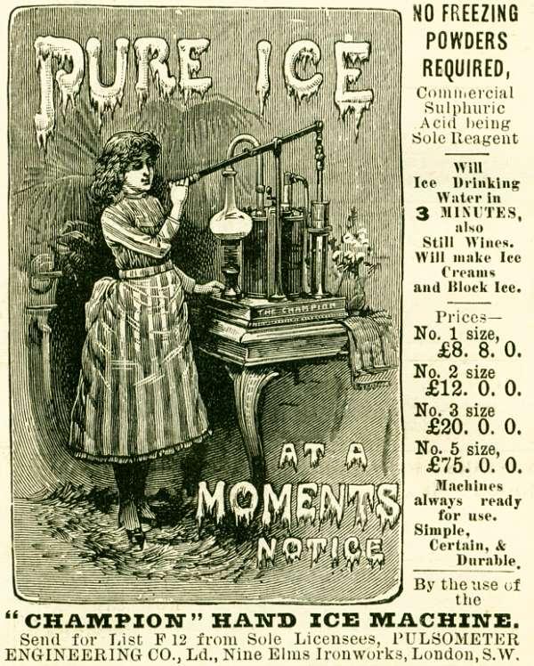 'Champion' Hand Ice Machine