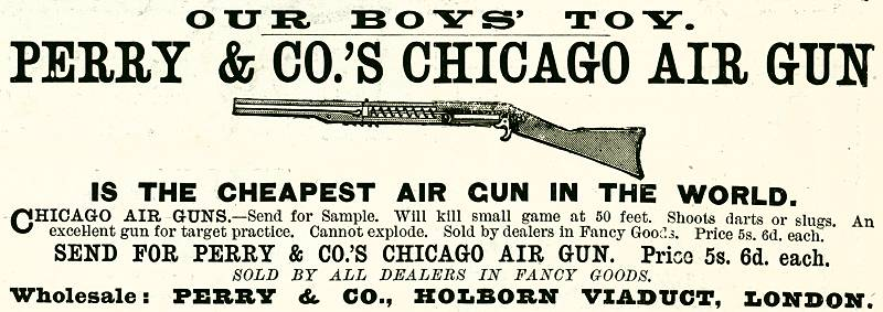 Perry & Co's Chicago Air Gun