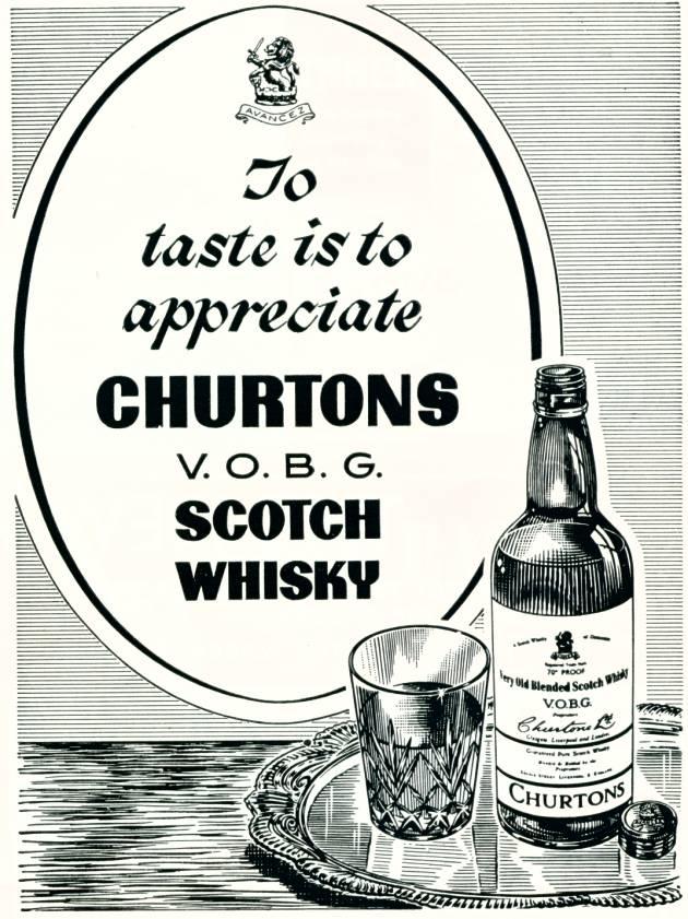 Churtons V.O.B.G. Scotch Whisky